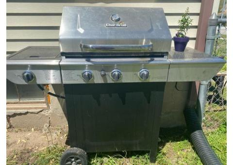 Char-Broil Grill with Side Burner